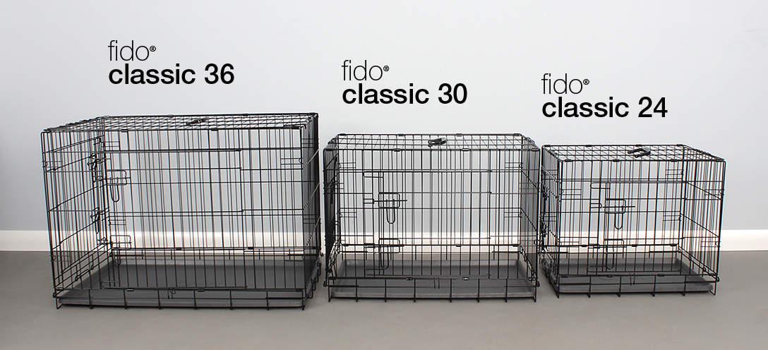 Fido Classic comes in 3 sizes