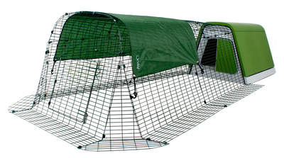 Eglu Go Chicken Coop with 2m Run Package - Leaf Green