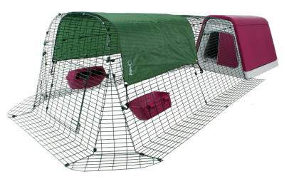 Eglu Go Chicken Coop with 2m Run - Purple