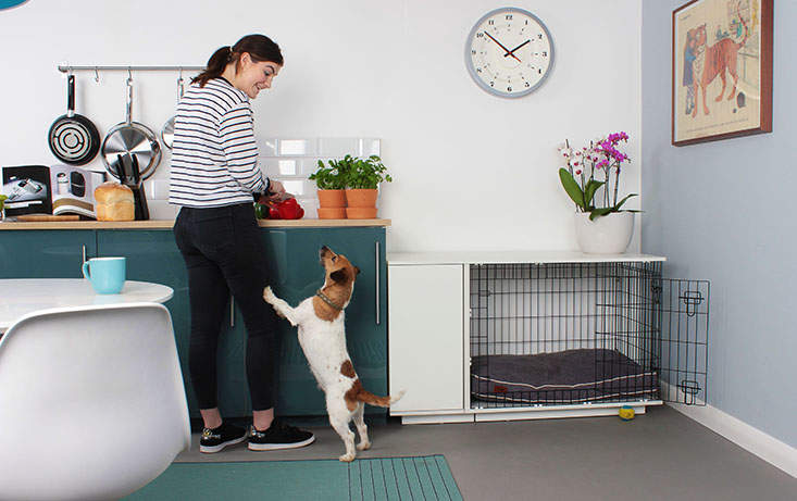 Designed Like A Piece Of Contemporary Furniture, The Fantastic New Fido  Studio Is More Than Just An Indoor Dog Crate. Itu0027s The Perfect Compliment  To Your ...