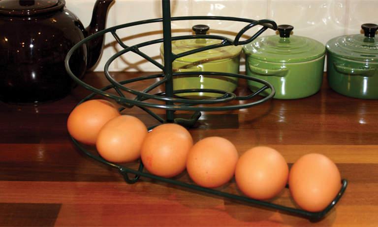 The Egg Skelter in Aga Green